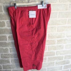 Women's plus size 2x Croft & Barrow NWT Capris
